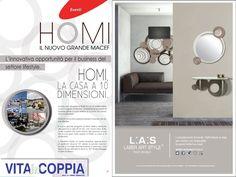 """L:A:S #laserartstyle è su """"Vita In Coppia"""", nello speciale su #Homi16! #wallsculpture #design #interiordesign #homedecor #furnishings"""