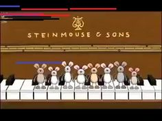 Happy Birthday Musical Mice - Steinmouse & Sons Happy Birthday To You. This Happy Birthday song is one of the best Happy Birthday Videos with Happy Birthday . Happy Birthday Animated Cards, Happy Birthday Song Video, Happy Birthday Music, Happy Birthday Wishes Cards, Happy Birthday Celebration, Happy Birthday Pictures, Happy Birthdays, Sister Birthday, Free Musical Birthday Cards