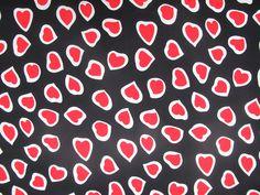 """Stoffe - """"Herzen"""" 150 x 150 cm - ein Designerstück von RoomFull bei DaWanda"""
