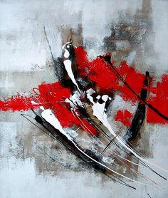 peinture abstraite sur toile - Recherche Google