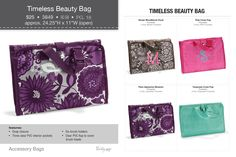 Timeless Beauty Bag Thirty one