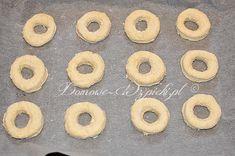 Oponki serowe - przepis Doughnut, Food, Essen, Yemek, Eten, Meals