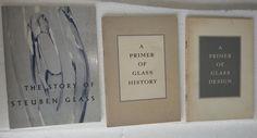 STEUBEN GLASS 718 Fifth Avenue New York 3 vintage booklets primer glass design