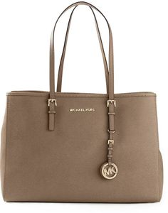 Brown Leather Tote Bag by MICHAEL Michael Kors. Buy for  310 from farfetch .com 7d03b0cee6