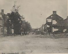 (1864) Ruins - Chambersburg, PA