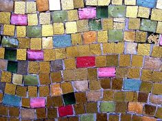 Love the use of these Colors ~ Mosaic
