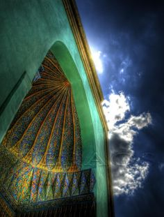 Green Tomb, Bursa Turkey (HDR)