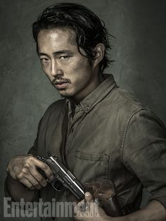 'The Walking Dead': Exclusive EW Portraits | Steven Yeun | EW.com