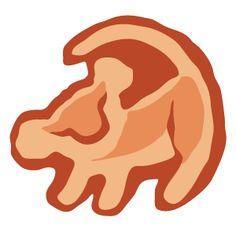 The Lion King Simba Tree Drawing - Sticker Mania