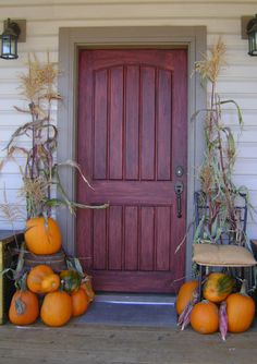 autumn door decorations | Fall Decorating Ideas