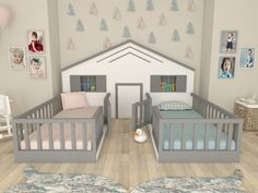 Babyzimmer Montessori Bett Hierapolis Montessori, There is also the las