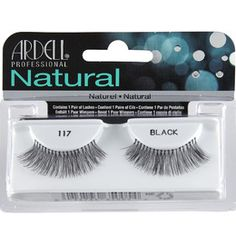 Ariel Natural Lashes 117 Black  I received this products complimentary for testing purposes.