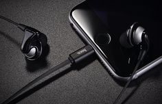 Ditch Those iPhone 7 Earbuds And Upgraded With The HOCO L1 Lightning Cable Headphones (26% OFF) - http://viralfeels.com/ditch-those-iphone-7-earbuds-and-upgraded-with-the-hoco-l1-lightning-cable-headphones-26-off/
