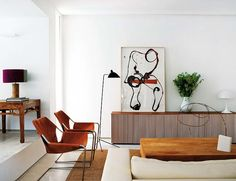 design attractor: Chic and Clean House in Spain
