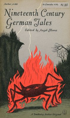 """Nineteenth Century German Tales"" book cover"