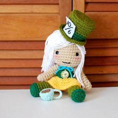Mad hatter girly amigurumi https://www.etsy.com/listing/151310555/mad-hatter-inspired-crochet-amigurumi