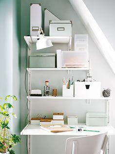 Welche Möbel eigenen sich für ein Home-Office unter Dachschrägen? HIER ENTLANG >>