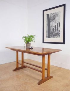 Stunning Arts & Crafts Mid Century 50's Cotswold Dining Table by Gordon Russell in Antiques, Antique Furniture, Tables