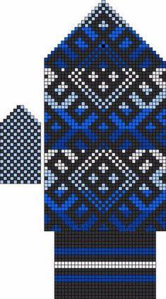Photo Knitted Mittens Pattern, Knit Mittens, Mitten Gloves, Double Knitting, Hand Knitting, Knitting Charts, Knitting Patterns, Cross Stitch Cushion, Tapestry Crochet Patterns