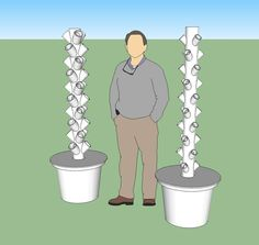 DIY Hydroponic towers