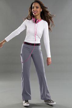Smitten's ENCORE pant will have you rockin' 24/7! Rock your pair today! #smitten #scrubs #medical #uniforms #hospital #nurse #dental #fashion #spring #steel #april