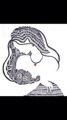 Tribal Breastfeeding tattoo | Things
