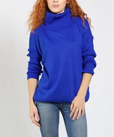 Sax High-Neck Turtleneck #zulily #zulilyfinds