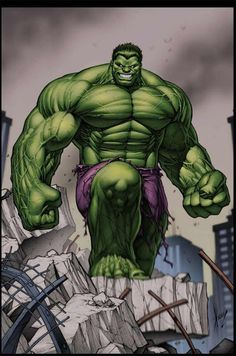 I really like the way this hulk is drawn for some reason