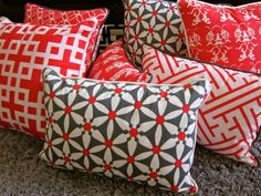 Chinese cushions