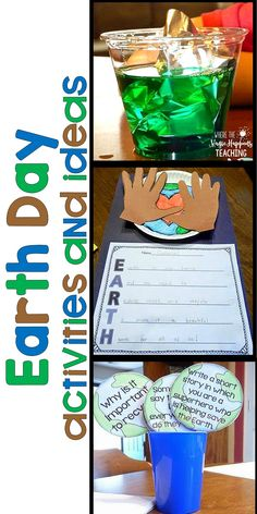 This article shows many Earth day activities for kids such as: Earth Day close reading, craftivities, acrostic poems, science experiments, writing prompts, and so much more!