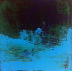 """Saatchi Art Artist norunn molsater; Painting, """"Winter Light 1"""" #art"""