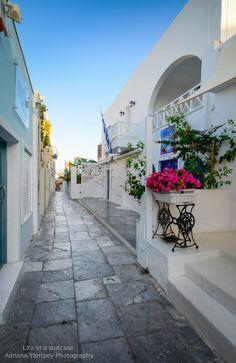 Main Path in Oia - Santorini