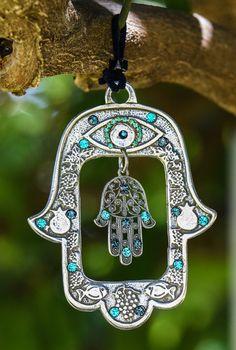 Art Pariétal, Art Mural, Wall Art, Wall Decor, Hamsa Jewelry, Boho Jewelry, Jewlery, Jewelry Necklaces, Fashion Jewelry