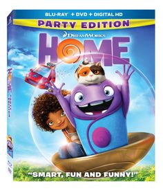 HOME on Blu-Ray Giveaway