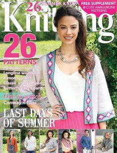 Knitting  Issue 145 2015 - 轻描淡写 - 轻描淡写