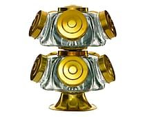 Baleiro Giratório Duplo Amarelo - 6,7L