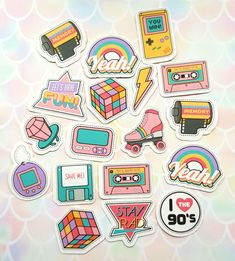 Stickers Discover 27 Products That Are As Precious As A Golden Retriever A pack of homemade nostalgia stickers for anyone who wants to reminisce about the good old days and feel warm and fuzzy inside. 27 Products As Precious As A Golden Retriever Stickers Kawaii, Cool Stickers, Laptop Stickers, Preppy Stickers, Journal Stickers, Planner Stickers, Sticker Printable, Sticker Ideas, Homemade Stickers