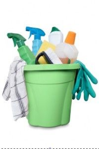 DIY homemade cleaners.