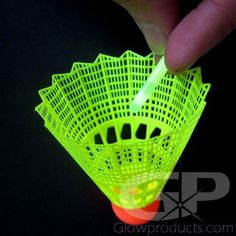 - Special Powder Formula Lights up for 24 Hours! - Use as Inserts for Glowing Badminton Birdies! Badminton Birdie, Glow Effect, Beach Ball, Glow Sticks, Markers, Trail, Powder, Fishing, Lights