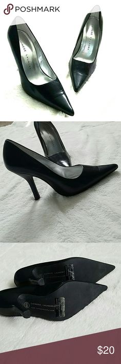 Chinese Laundry high heels Pair of size 6.5M Chinese Laundry leather high heels. Worn twice, barely any wear Chinese Laundry Shoes Heels