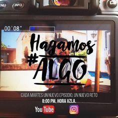 @Regrann from @alvarorpk -  Esto empieza mañana. Cada martes un nuevo episodio un nuevo reto. Quieres hacer algo por el mundo y por Venezuela? #HagamosAlgo juntos cada semana. _________ Desde ya puedes suscribirte a mi canal > http://youtube.com/c/AlvaroPérezKattar y mañana a las 8pm postearé un vídeo a través de mi cuenta Instagram y mi canal de YouTube. De allí un reto semanal en el que te invito a participar. Recuerda: Cada quien con lo que tiene puede mucho más de lo que cree…