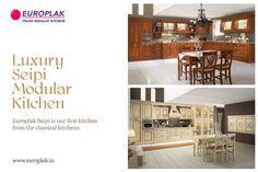 Luxury Seipi Modular Kitchen For more details Visit : http://www.europlak.in/