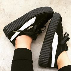 These Rihanna-designed Puma creepers are the hottest shoes of the season.
