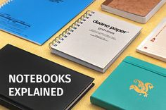 Paper Notebooks Explained - JetPens.com