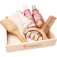 Kit para Banho Harmonia Framboesa e Orquídea - Orgânica Soap Packing, Mini Craft, Perfume, Corporate Gifts, Cool Diy, Girls Night, Gifts For Women, Relax, Basket