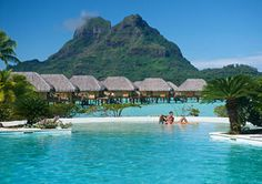 Bora Bora Pearl Beach Resort and Spa, Bora Bora, Bungalow, Overwater, Guestroom View
