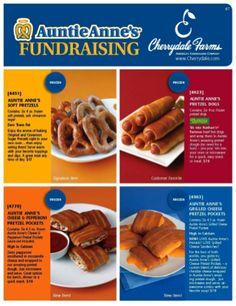 Pretzel Fundraisers | Fundraising Ideas | School-Fundraisers.com
