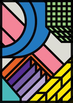 Jowell by Peter Judson Memphis Pattern, Memphis Design, Arte Popular, Grafik Design, Illustrations And Posters, Geometric Art, Graphic Design Inspiration, Abstract Pattern, Art Inspo