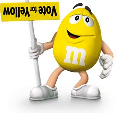 M&M on Pinterest | M&m Characters, Yellow and M M Candy