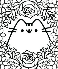 pusheen coloring pages printable 94 Best Pusheen Coloring Book images | Coloring book, Pusheen  pusheen coloring pages printable